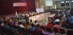 Suasana rapat pleno terbuka Pilkada Inhil tingkat kpud di Gedung Engku Kelana Tembilahan