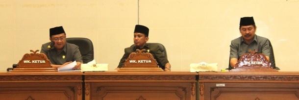 Fraksi DPRD Inhil Sampaikan Pandangan Umum Atas Pidato Pengantar Bupati