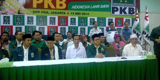 PKB Ancam Tak Calonkan Jokowi di 2019