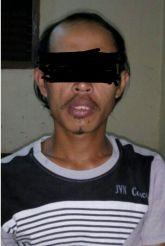 "Ini dia Wajah Pria ""Bejad"" warga Mandah R (35)"