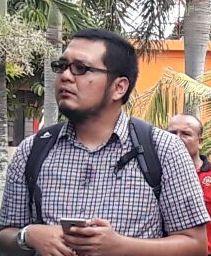 Deputi Walhi Prov Riau Boy Evan Sembiring