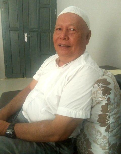 Ketua Koperasi SUBUR, H Ridwan