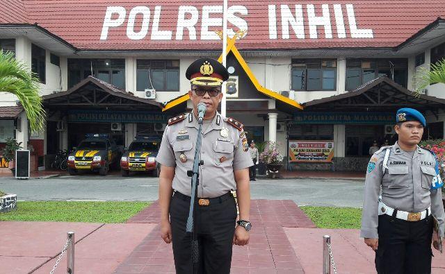 Waka Polres Inhil Komisaris Polisi, Dr, Azwar, S.Sos, M.Si, M.H,
