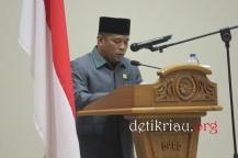 Ketua Badan Pembentukan Peraturan Daerah (Bapemperda) DPRD Inhil Malian Gazali