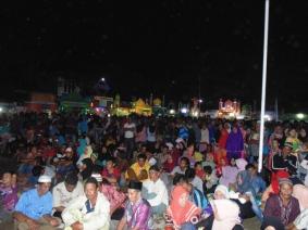 Antusias warga masyarakat Kecamatan Tempuling dalam rangka mensukseskan kegiatan MTQ ke 38 Kecamatan Tempuling Tahun 2017